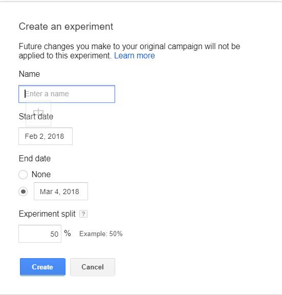Campaign Experiments Screenshot 6