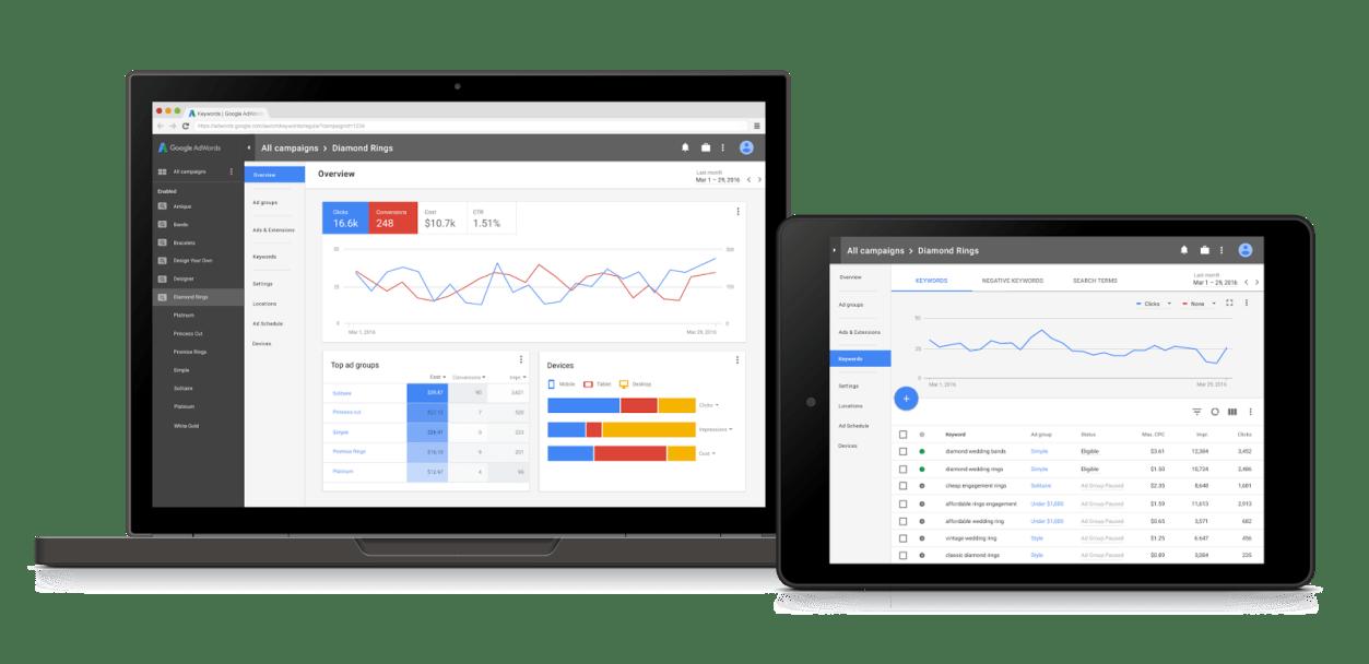 3個只有AdWords新介面才有的功能,更有效管理關鍵字廣告
