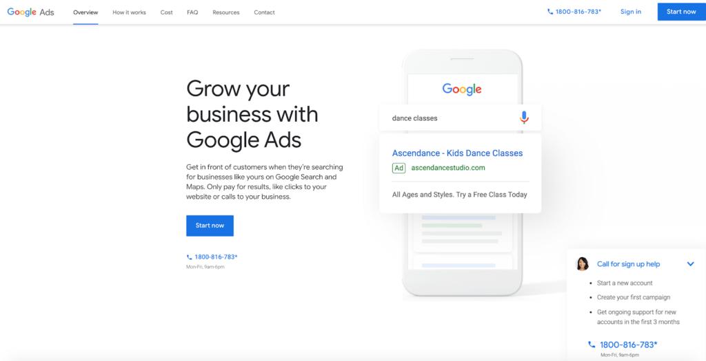 Google Ads Setting Step 1_1