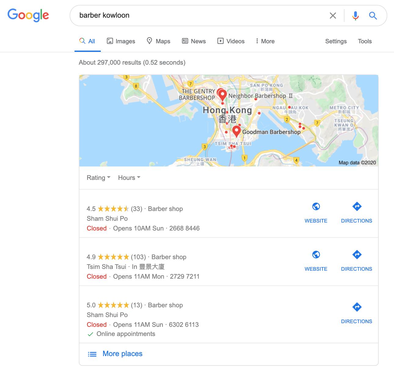 google my business 20